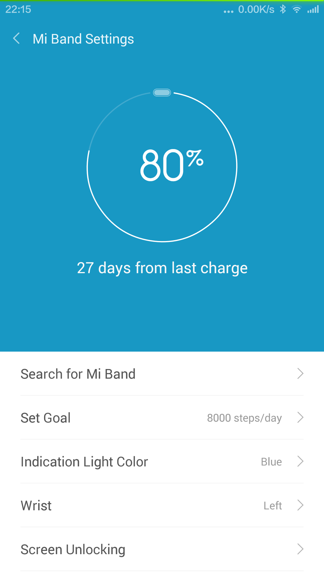 My Daily Blog Of The Xiaomi Mi Band The Modern Living